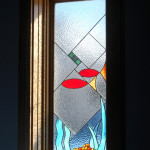 "Stained Glass ""Fish"" Window"