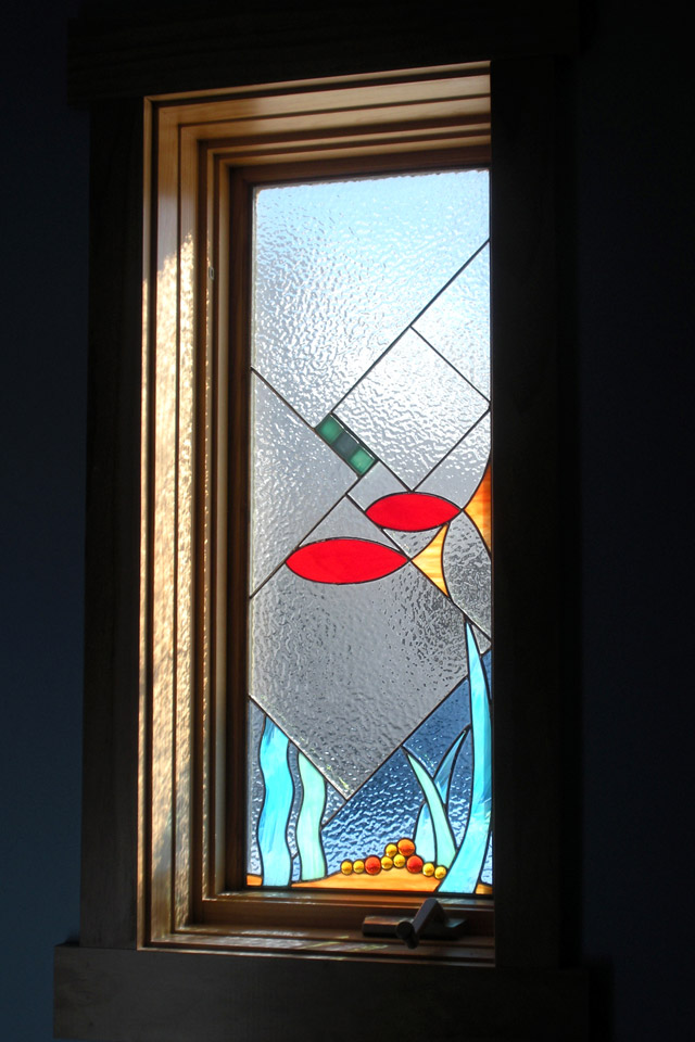Custom kris art glass for Custom design windows