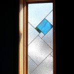 "Stained Glass ""Angle"" Window"