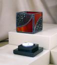 Mosaic 3x3 Red Black - base