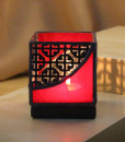 Mosaic 3x3 Red Black - front