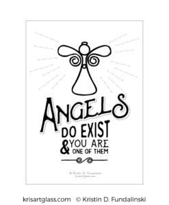 Fundalinski - Angel Exist Print