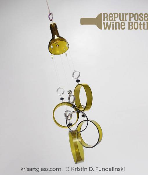 KFundalinski - Wine Chime - Antique Green